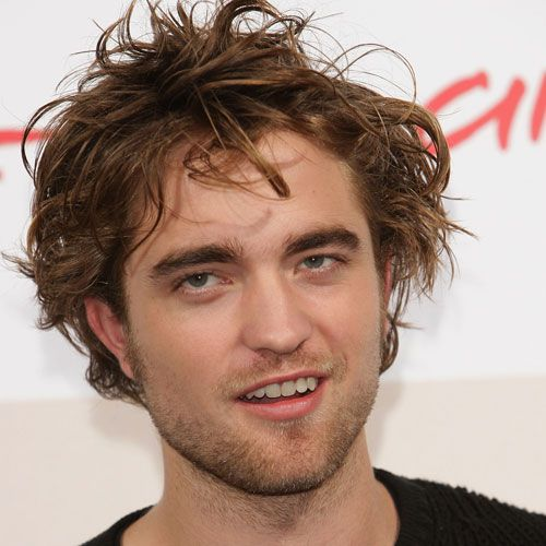 Robert Pattinson Shaggy Hairstyle