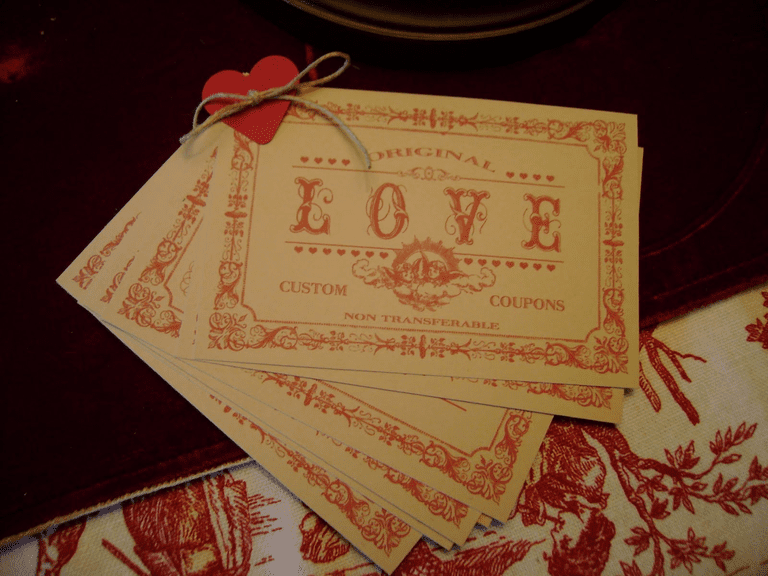 Free Printable Love Coupons and Coupon Templates