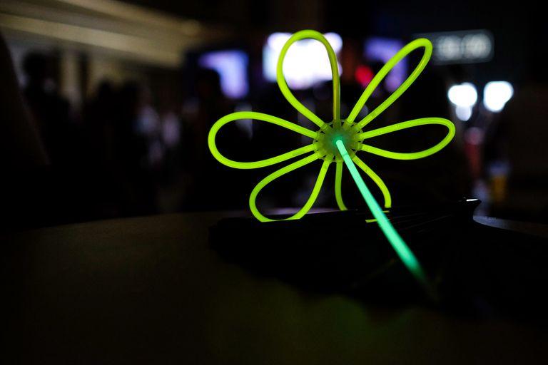 Glow Stick Toy In Might Club