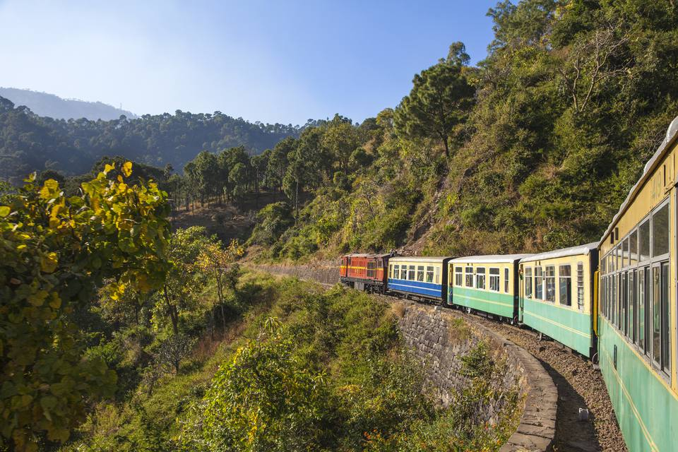 India, North-West India , The Kalka–Shimla Railway.