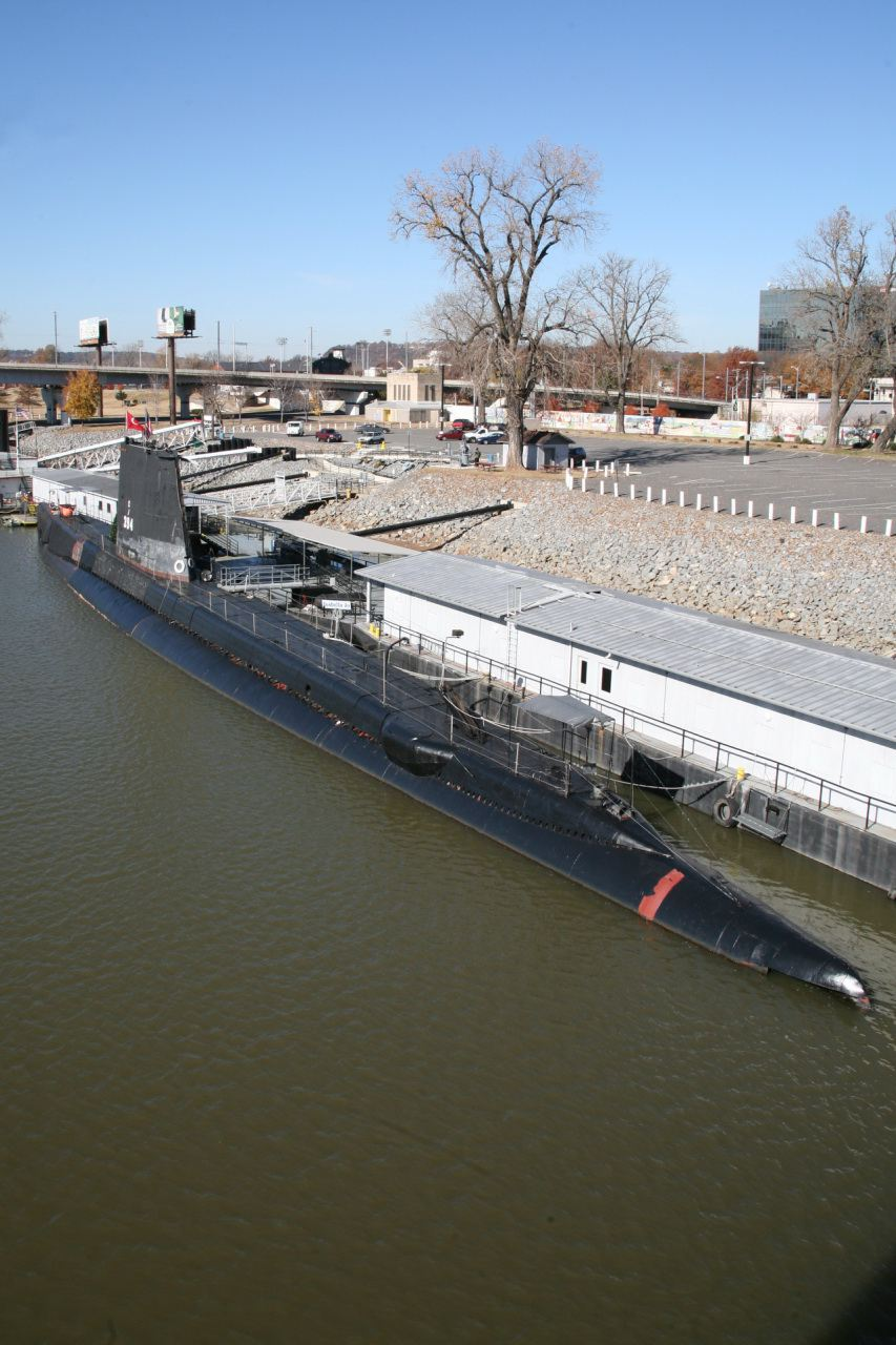The USS Razorback at the Arkansas Inland Maritime Museum.