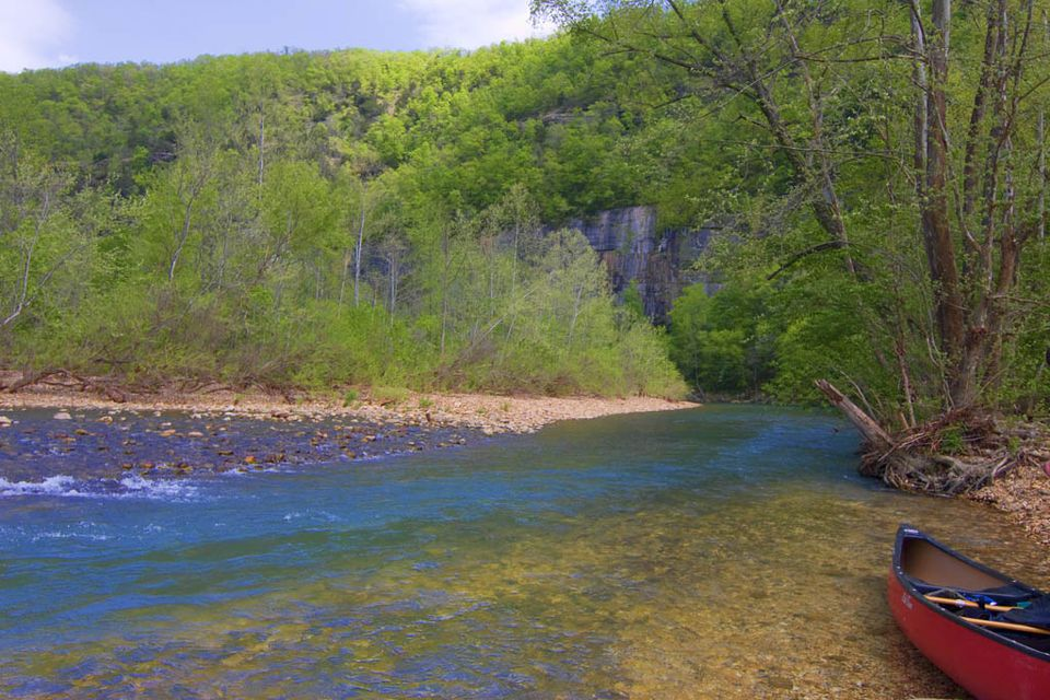 Buffalo National River at Steel Creek Campsite