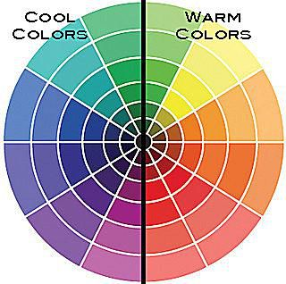 Cool Colors Located On The Left Side Of This Color Wheel Can Make A Space Feel Calm And Grounded Photo C Tonya Lee