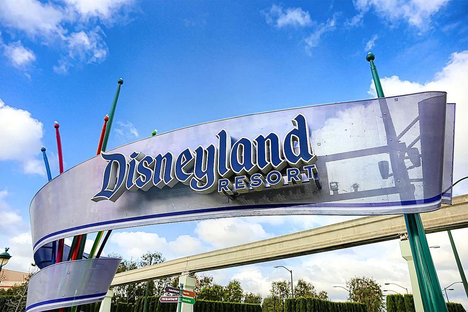 Entrance to the Disneyland Resort