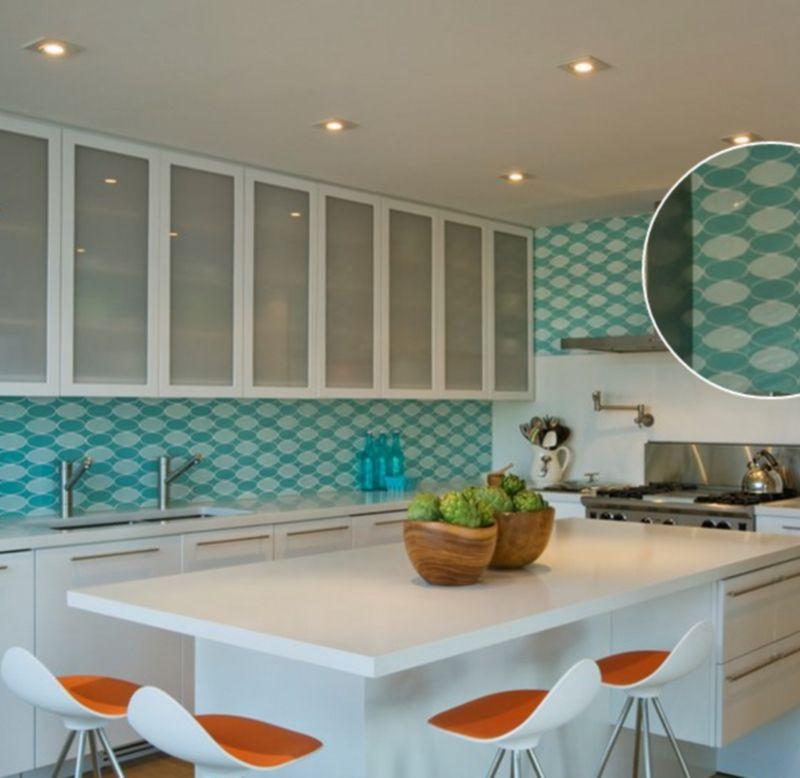 Kitchen Wall Tiles Height: 30 Amazing Design Ideas For A Kitchen Backsplash
