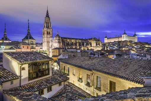 Toledo al amanecer