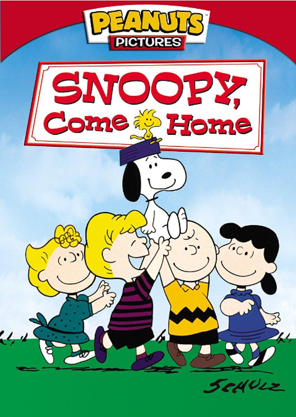 snoopy come home movie