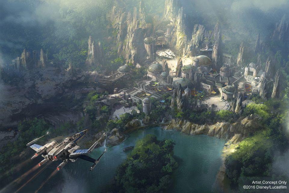 Artist's Concept for Star Wars Land