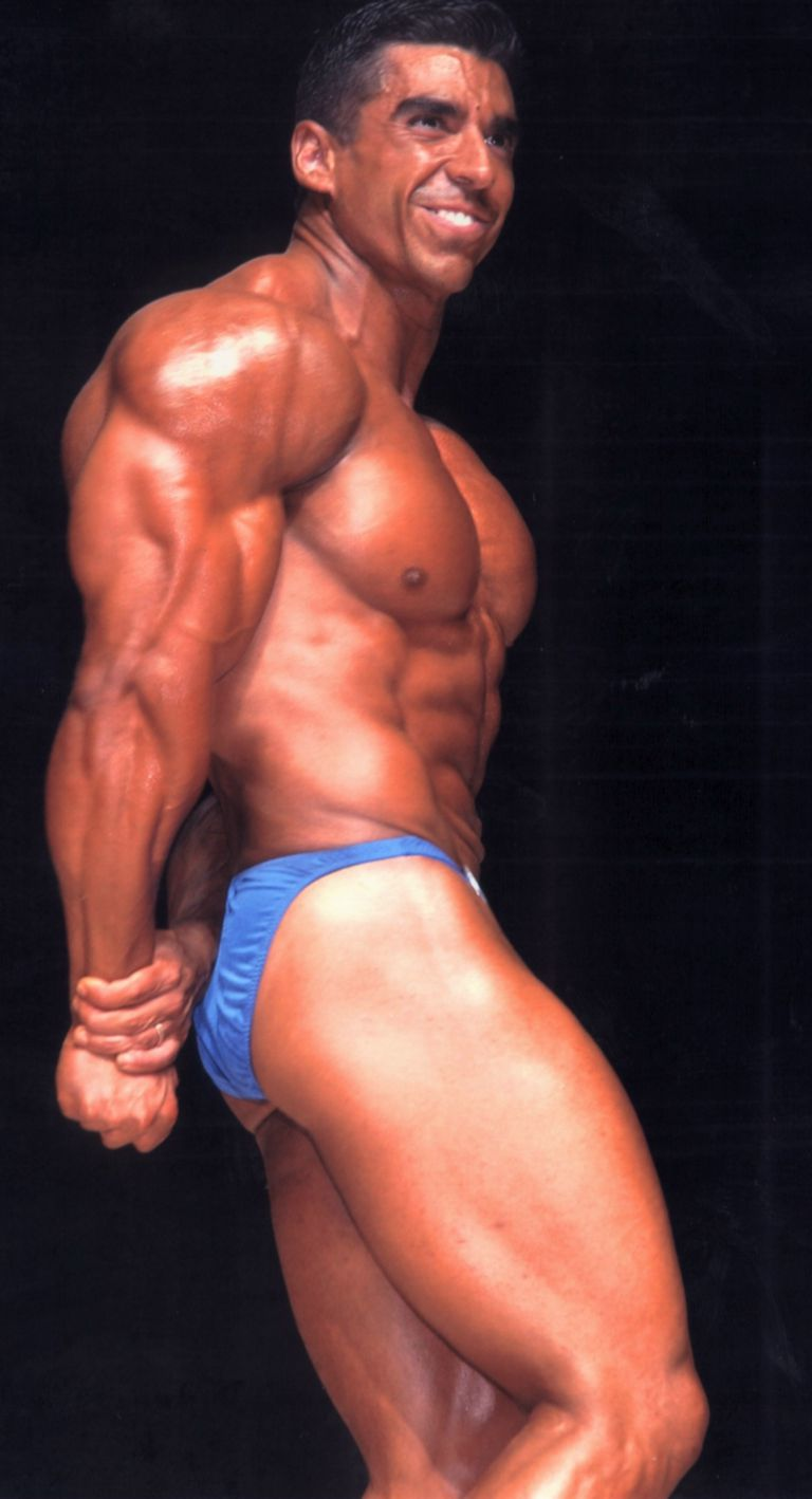 Hugo Rivera's Shoulders and Triceps.