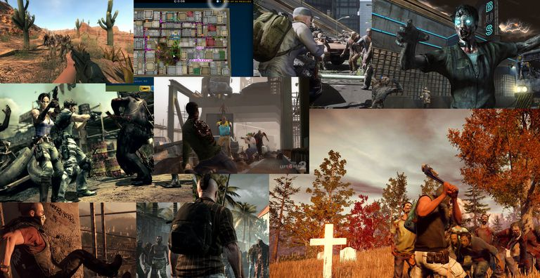 Top Zombie PC Games