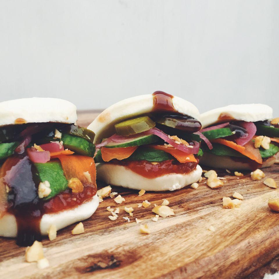 Vegetarian Steamed Buns