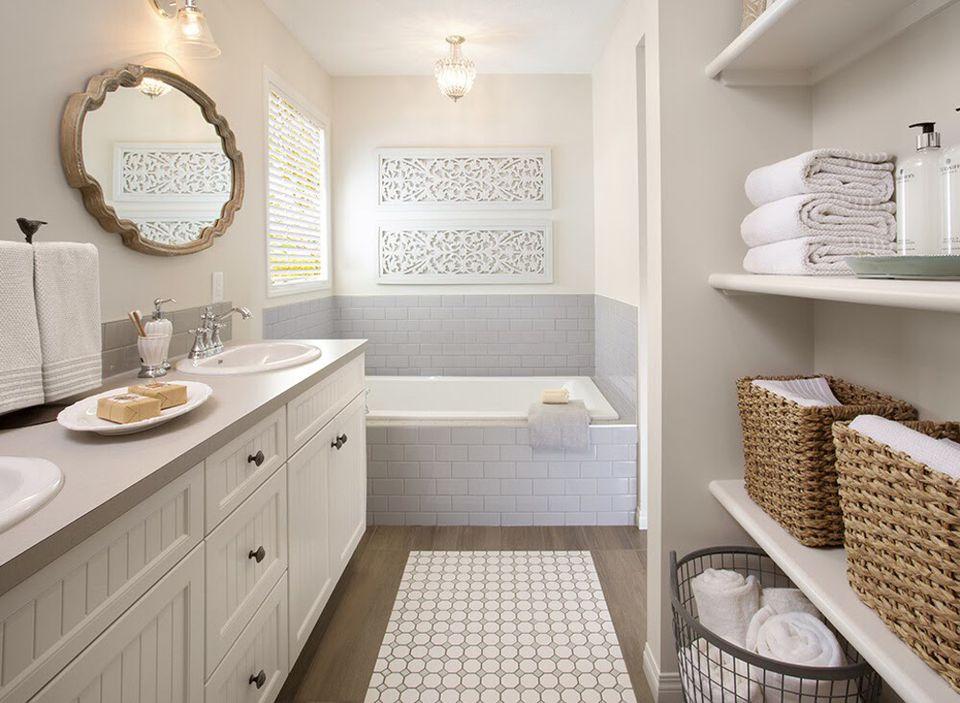 15 bathroom shelf ideas for a more organized home - Bathroom Shelf Ideas
