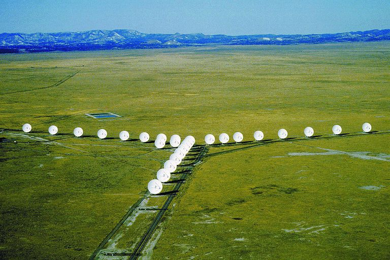 the Very Large Array radio telescope