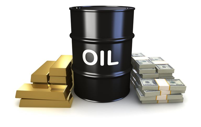 commodities such as gold and oil have values attached to each price move