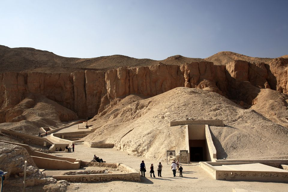 Tombs in the Valley of Kings