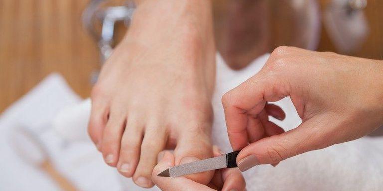 Cuidado de los pies con diabetes