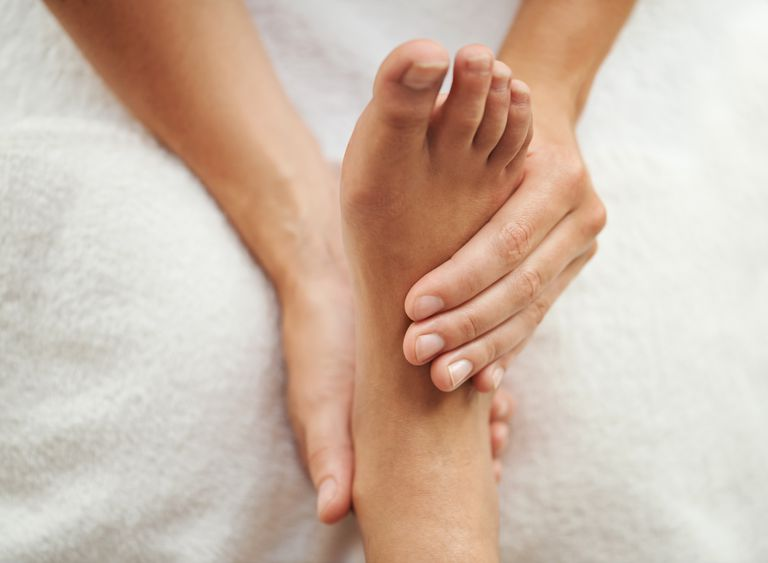The perfect pedicure Cropped shot of a woman's foot being massagedhttp://195.154.178.81/DATA/shoots/ic_783326.jpg Details Credit: PeopleImages