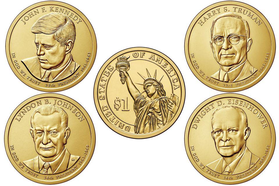 2015 United States Presidential Dollars
