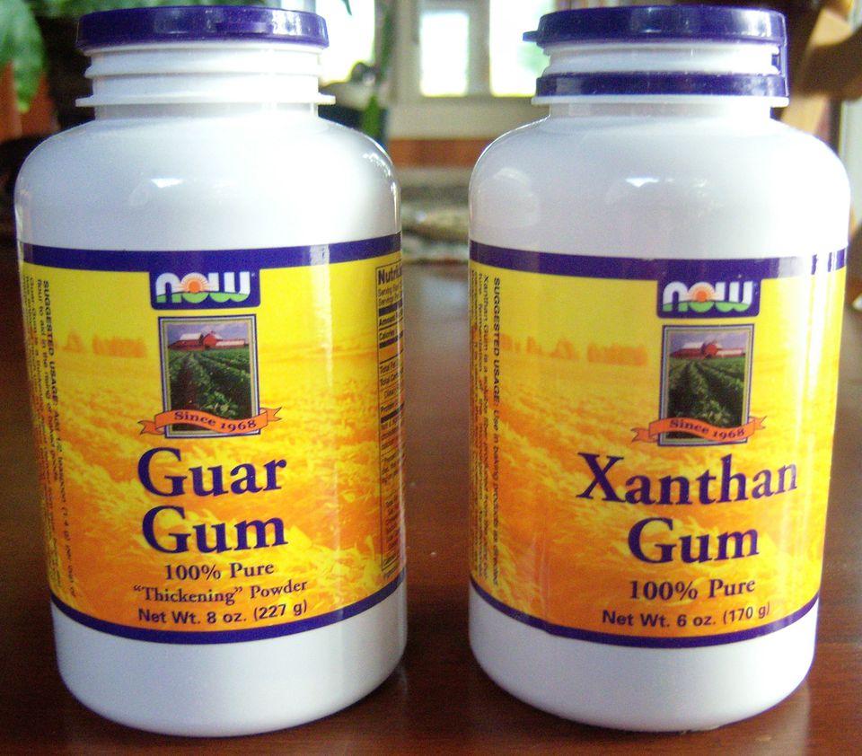 Gluten-Free Bread Ingredients - Xanthan Gum and Guar Gum Image Teri Gruss