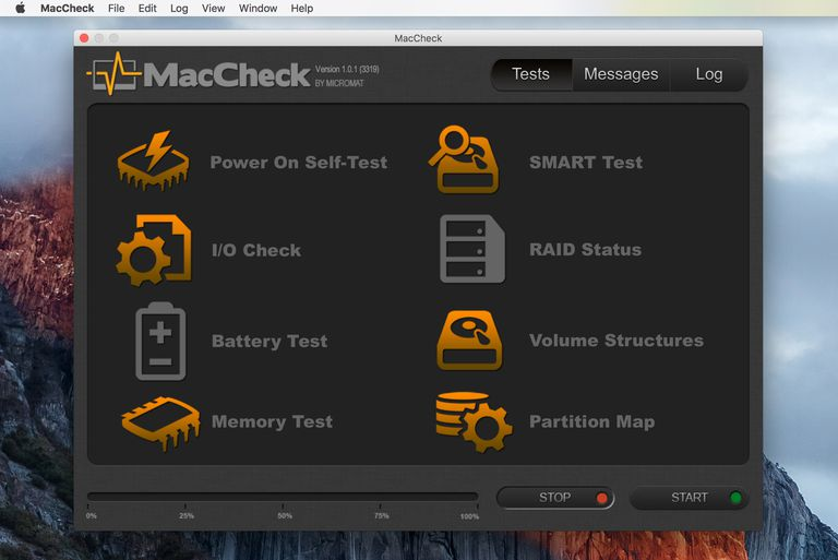 MacCheck Mac Hardware Tester