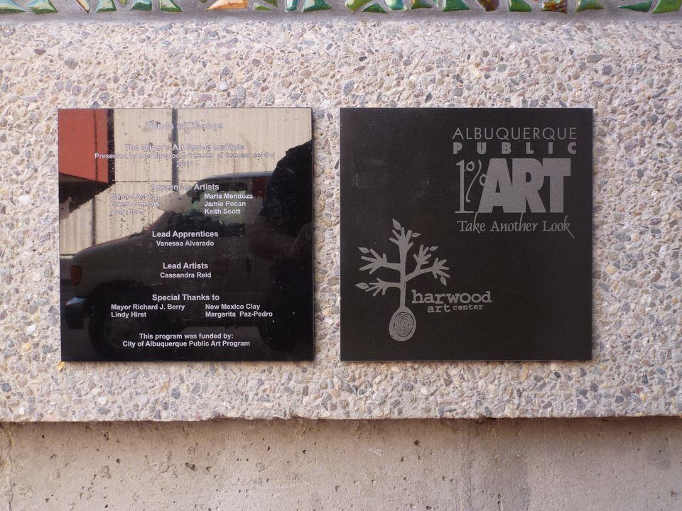 Some of the Mosaics on the Albuquerque Convention Center