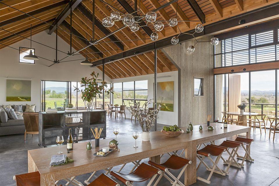 MacRostie Estate House Tasting Room