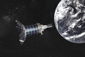 USAF Defense Support Program (DSP) satellite