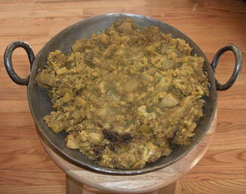 Aloo Gobi Potato Cauliflower Curry