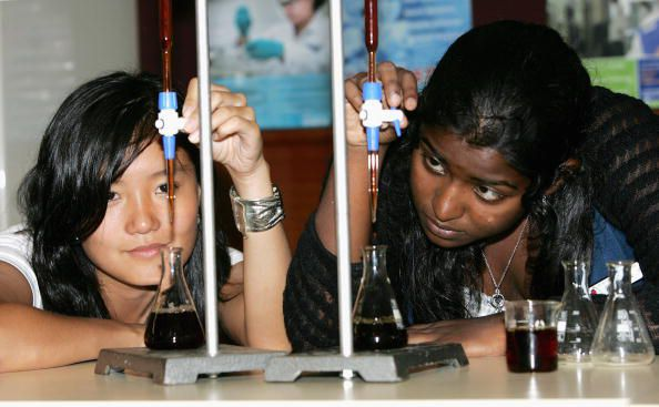 A titration is used to determine concentration of an acid or base.