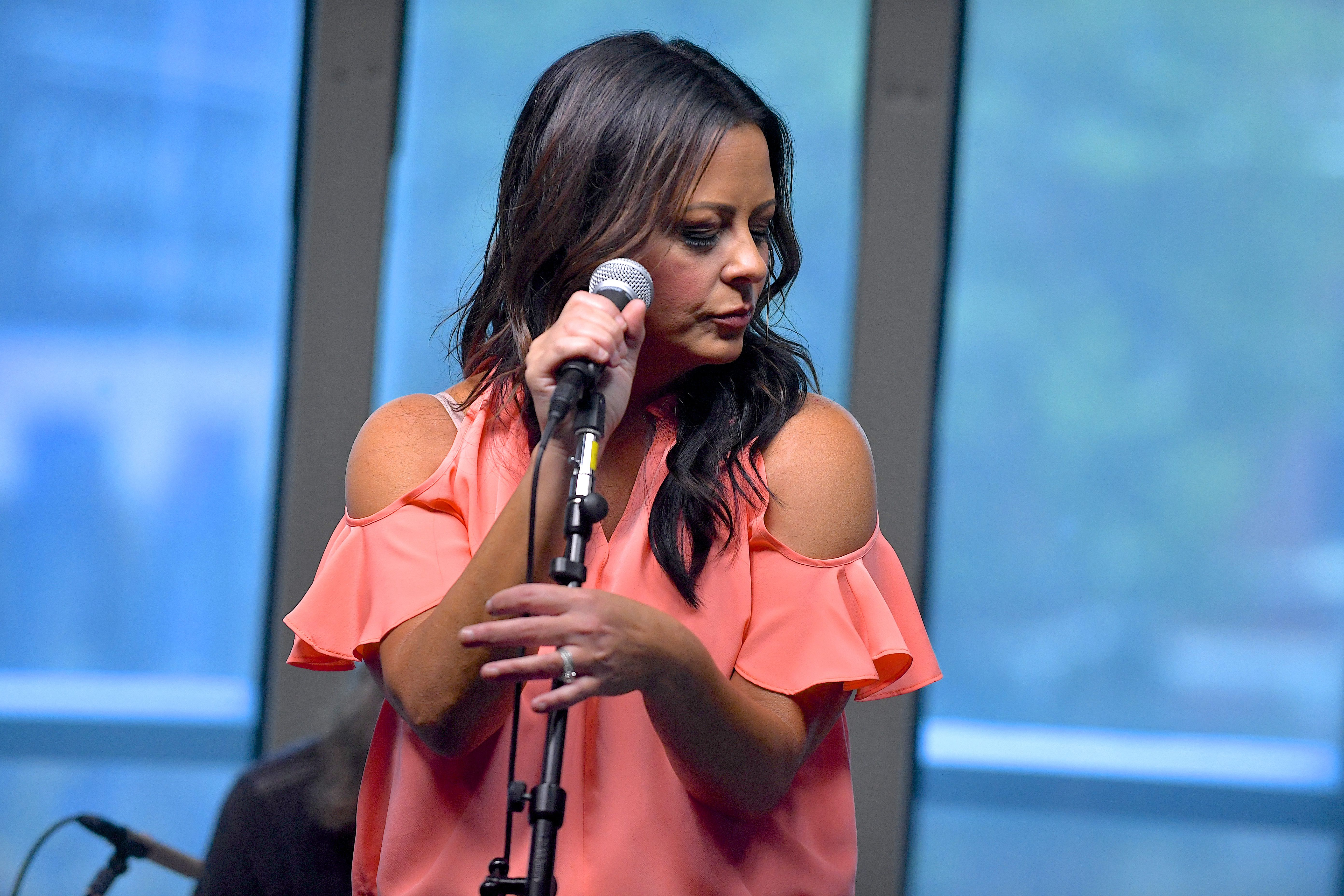 Sara Evans Performs During An Album Premiere Special On SiriusXMs Y2Kountry Channel At Music City