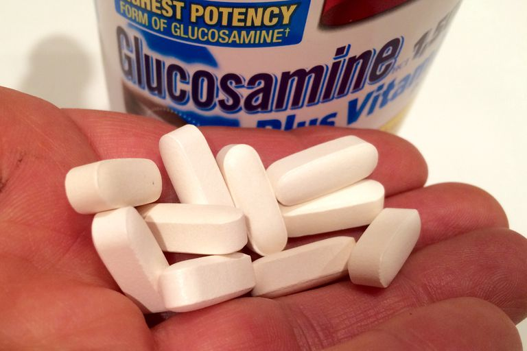 The glucosamine supplement.