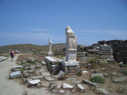 Delos 2008: Marble phallus from c. 300 B.C.