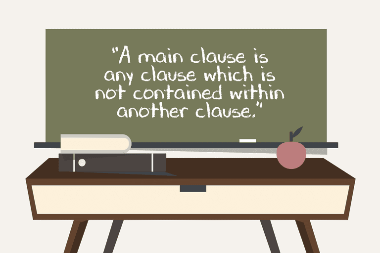 main clause definition