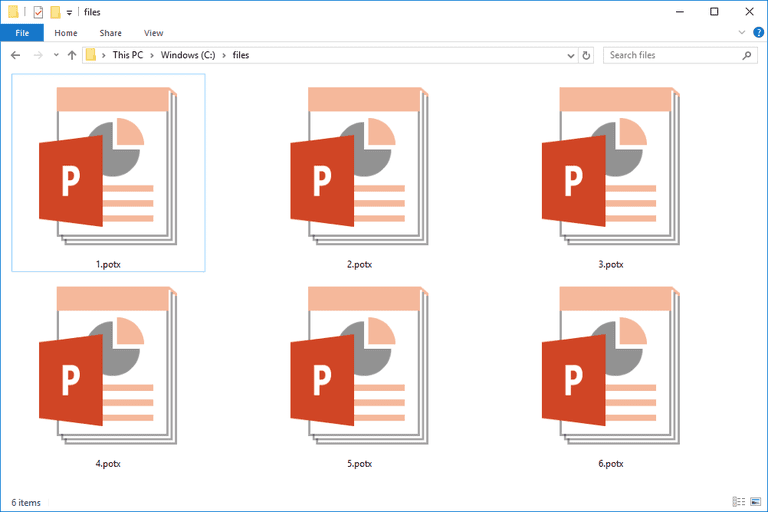Potx file what it is how to open one screenshot of several potx files in windows 10 toneelgroepblik Image collections