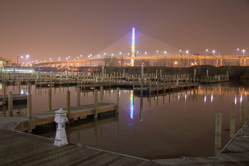 Toledo Veterans' Glass City Skyway Bridge