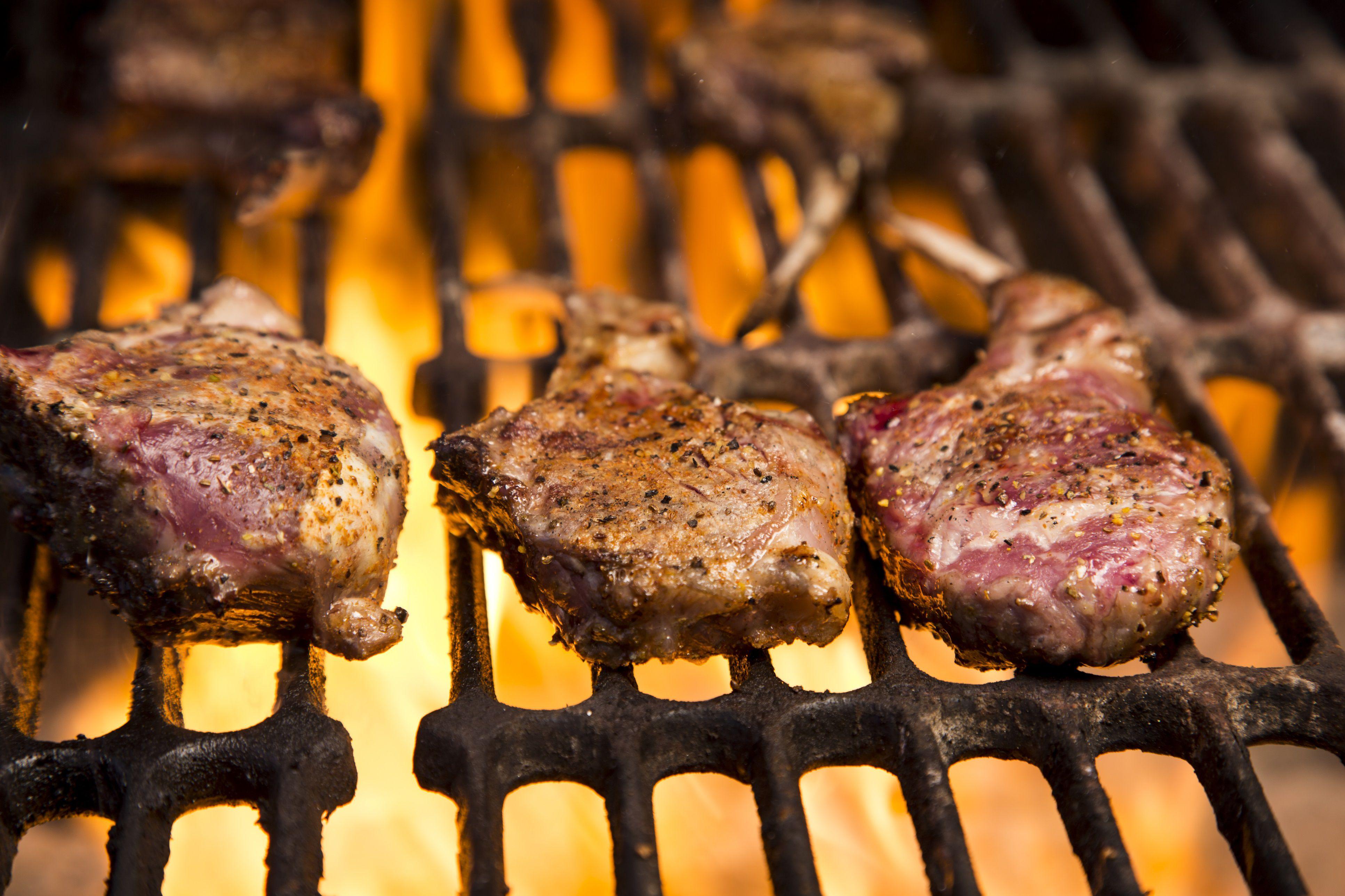 grilled moroccan mint lamb chops recipe