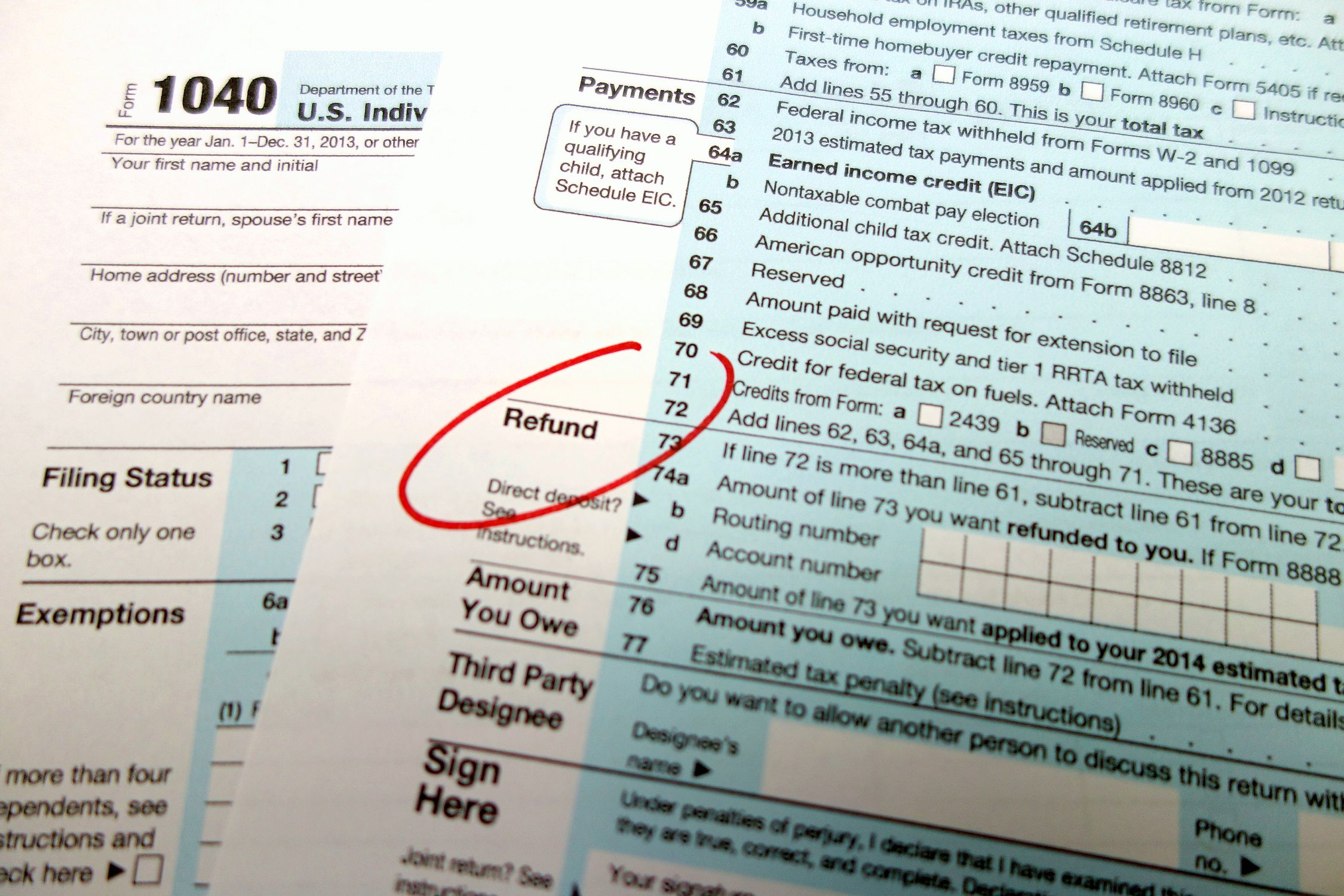 Does the IRS Owe You Money?