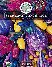 Cover of Seed Savers Exchange 2011 catalog.