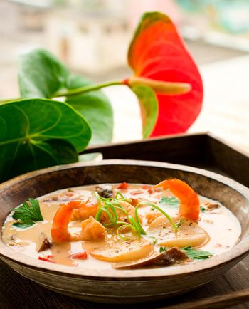 Thai Scallop and Shrimp Curry