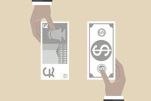 dollar pound exchange