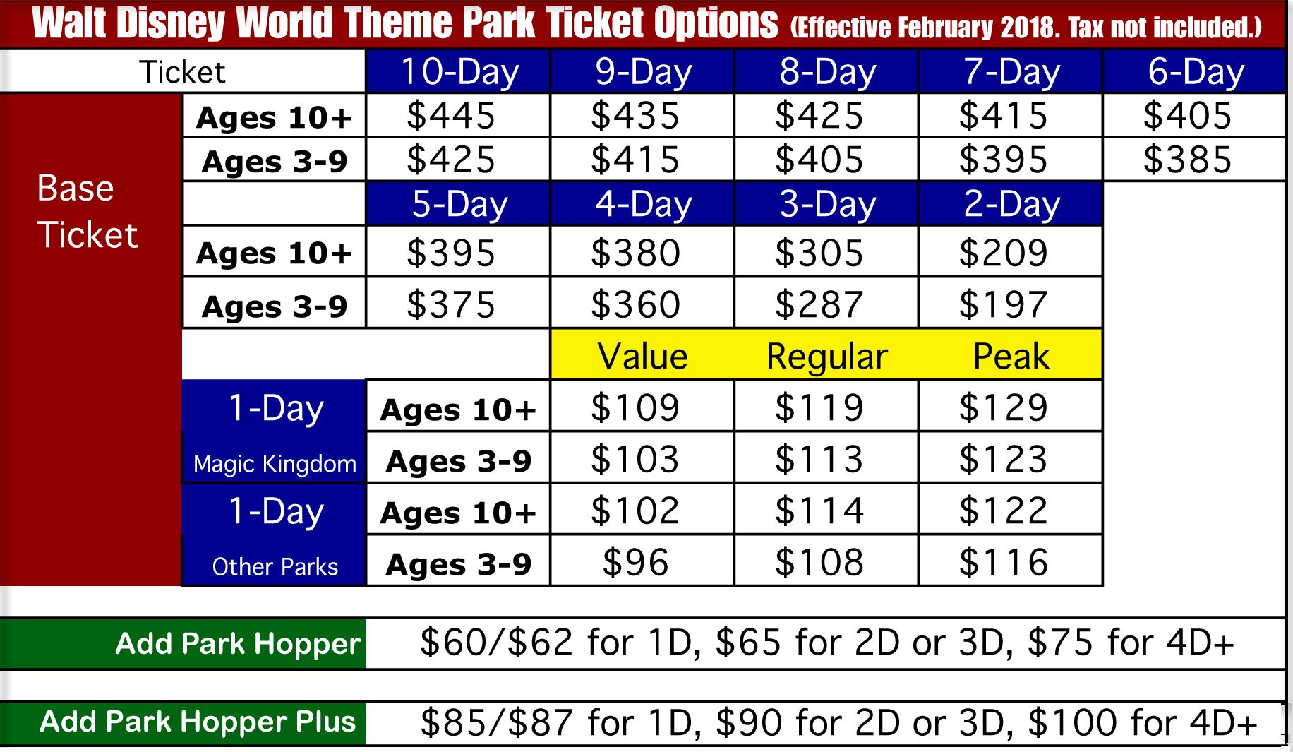 Walt Disney World Ticket Discounts. LAST UPDATE: 11/5/ Disney World tickets are available discounted year-round, and we list all the best ways to get Disney World ticket deals. Multiple Disney World ticket discounts are available for the general public and even a few ways to get a discount on Disney World annual passes.