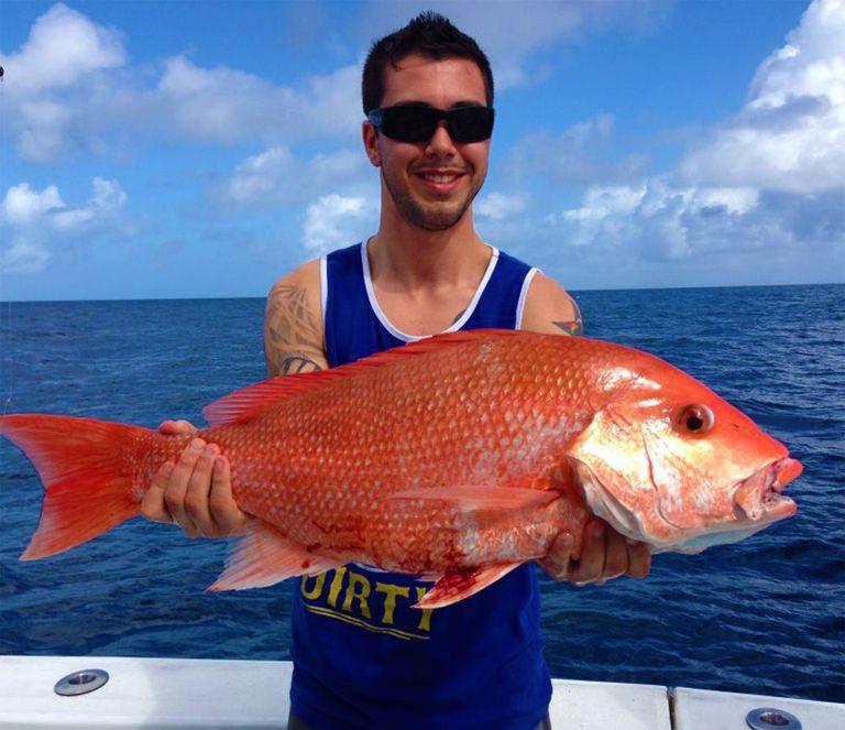 caught fish