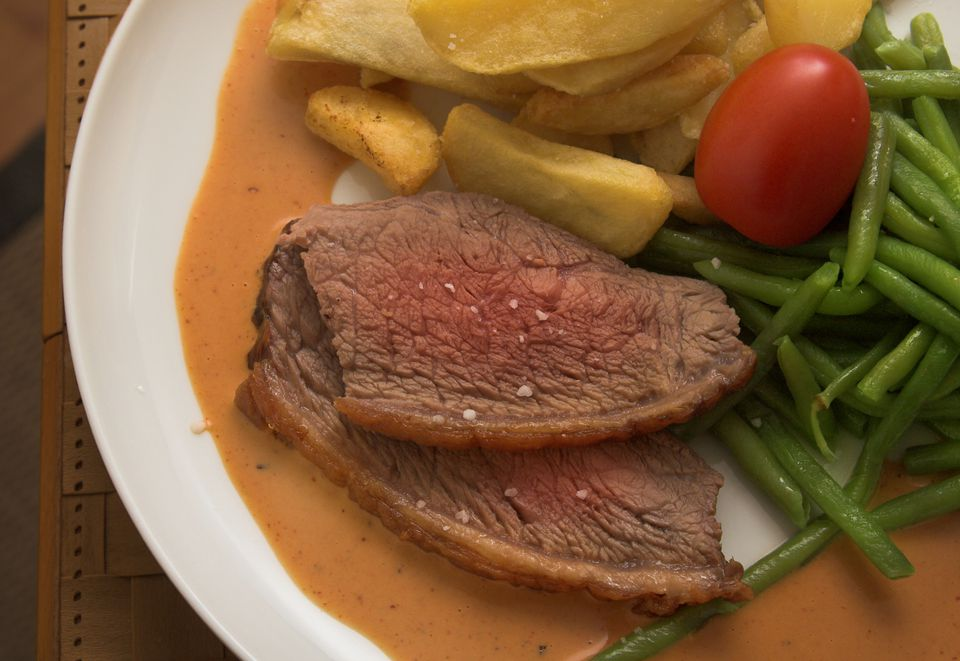 steak and gravy