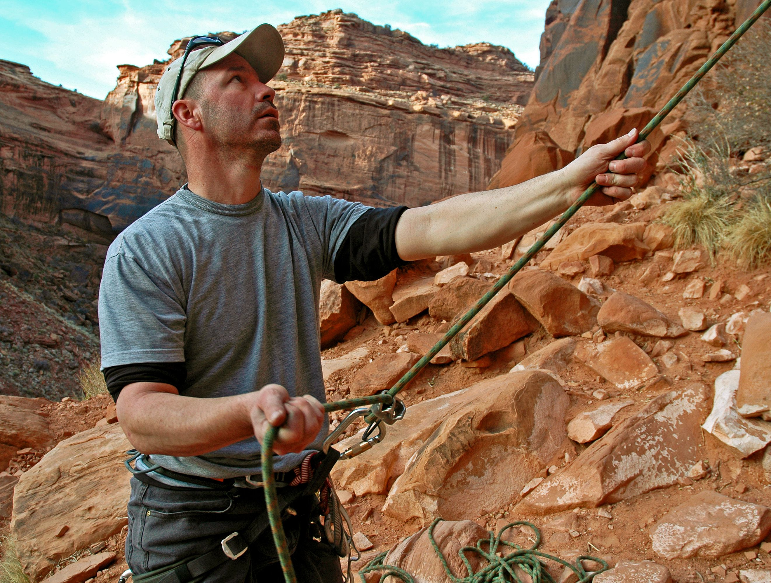 Rock Climbing Commands: On Belay