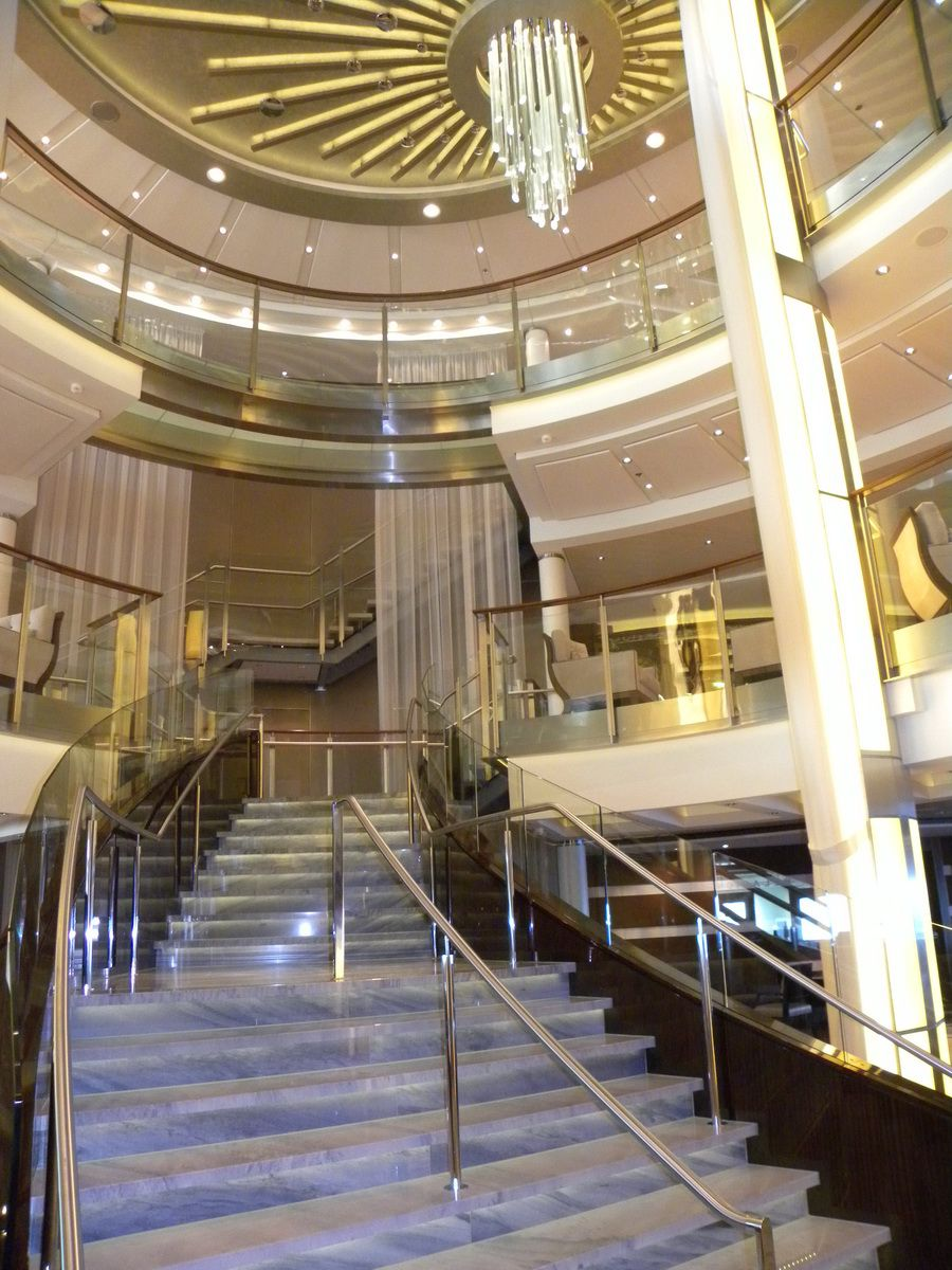 Celebrity Eclipse - Grand Staircase