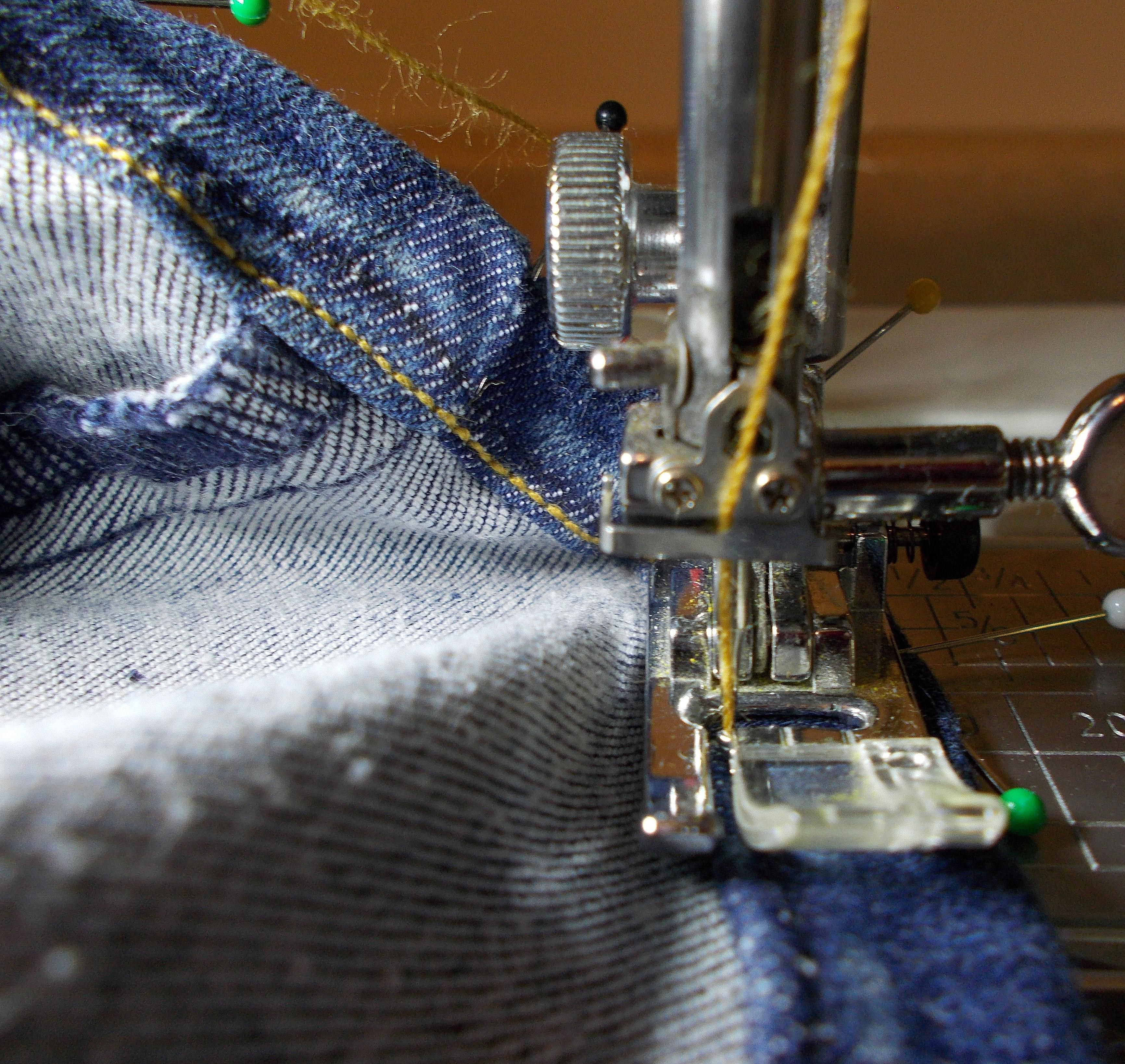 Who Is Talking About 57 Distinct House Electrical Design: How To Hem Jeans And Casual Clothing