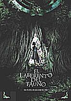 Spanish film poster of 'El Laberinto del fauno'