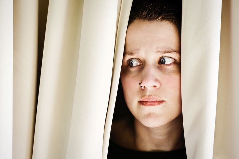 People with agoraphobia fear leaving their home.