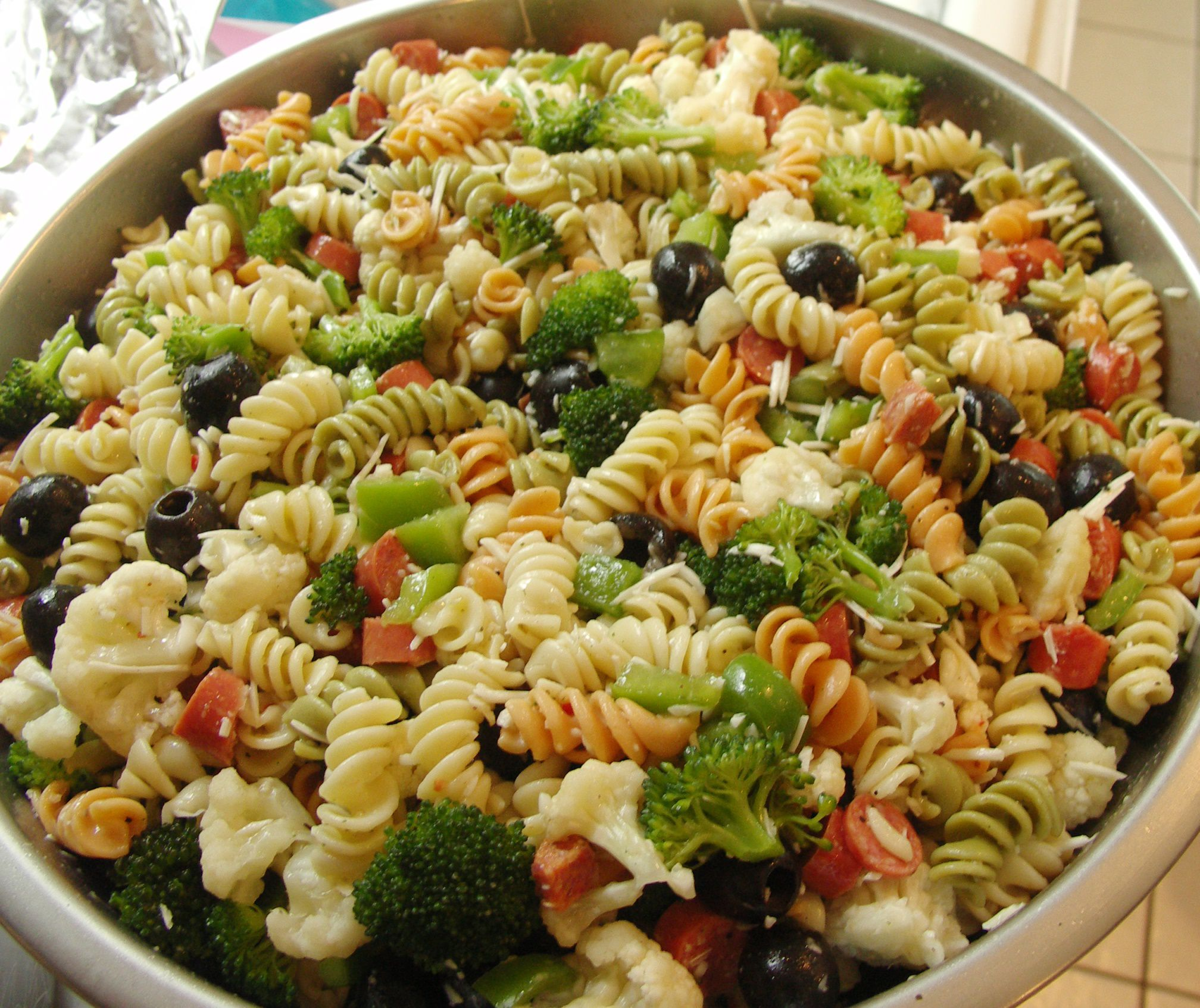 Fat-Free Vegan Pasta Salad Recipe