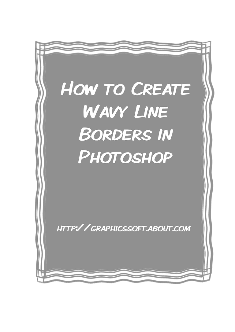 How to add a wavy line border to a rectangle in photoshop baditri Images